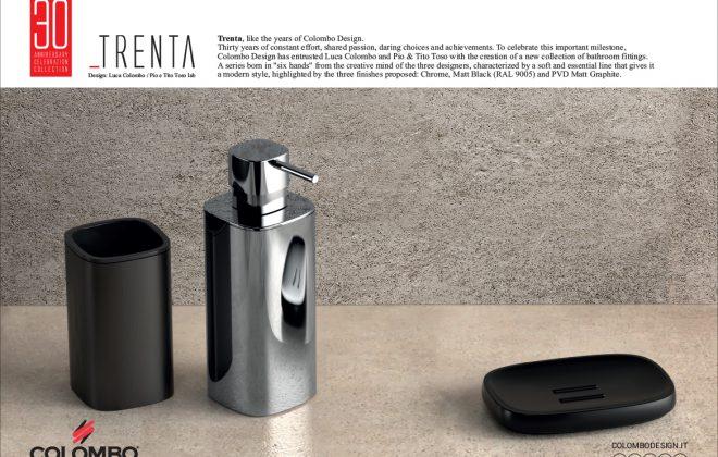 accessori bagno Trenta by colombo design